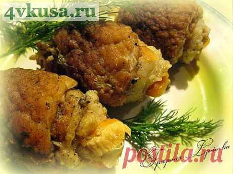 Рулетики от мужа (записки наблюдателя) | 4vkusa.ru
