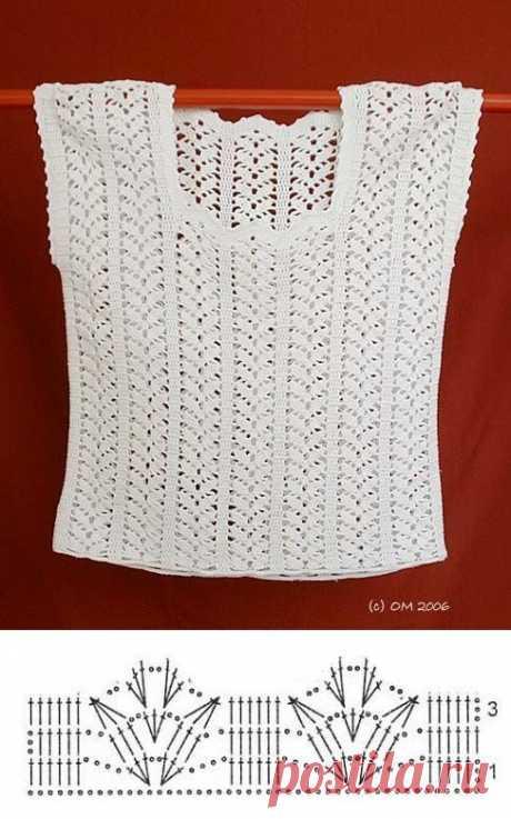 60 Blusas para verano en crochet - Salvabrani - Salvabrani