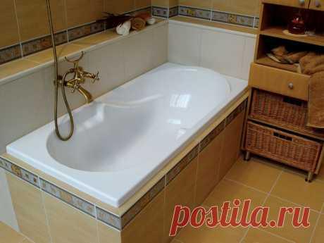 Как покрасить ванну — Pro ремонт