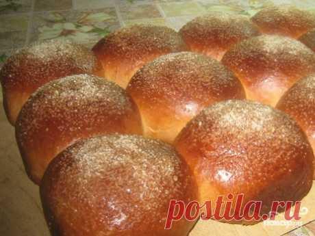 Сдобные булочки с сахаром - пошаговый рецепт с фото на Повар.ру