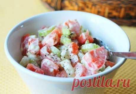 Легкий салатик и всего 20 ккал!