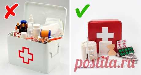 Как собрать универсальную домашнюю аптечку, которая выручит влюбой ситуации