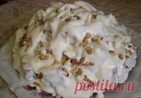 """Шикарный торт """"Айсберг"""" - готовлю на все праздники! Объедение!"""