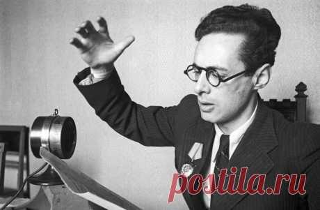 Юрий Левитан-диктор, ставший личным врагом Гитлера