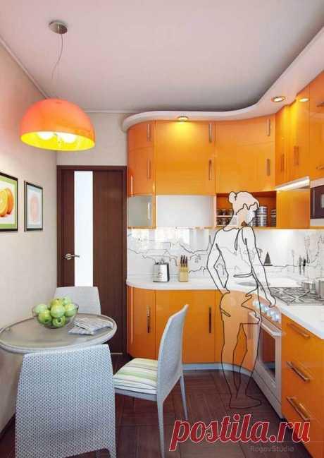 Дизайн кухни в хрущевке / Я - суперпупер