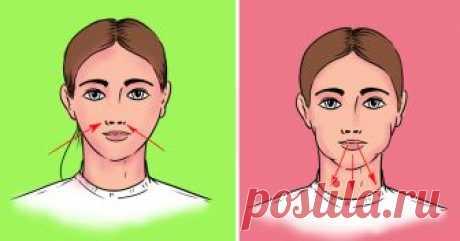Упражнения, от которых твое лицо будет сиять ярче звезд Каждой женщине на заметку.