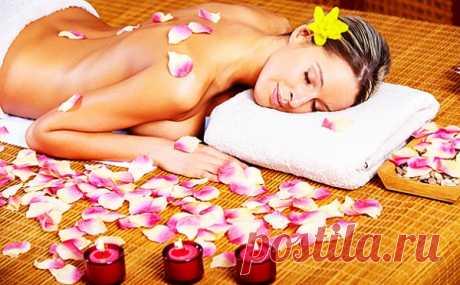 Секреты эротического массажа