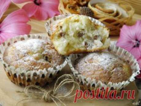 Кексики творожные с изюмом - пошаговый рецепт с фото на Повар.ру
