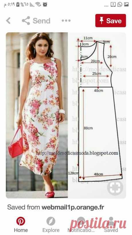 Фасоны летних платьев и сарафанов + выкройки