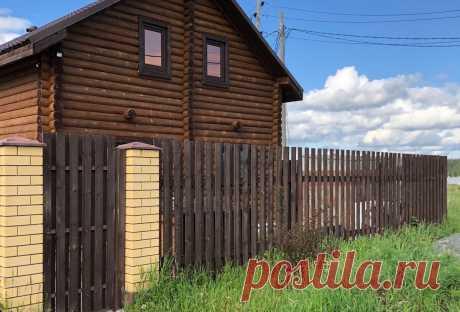 Красиво не значит дорого! Деревянный забор своими руками   Рабочая Молодежь   Пульс Mail.ru после приобретения участка для постройки дома первоочерёдным для нас стало возведение забора