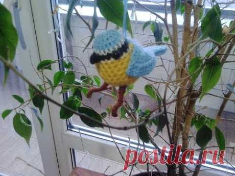 Вязаные игрушки. А в жизни они такие... Knitted toys. And in life they are ...