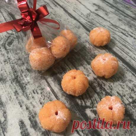Сахарные мандаринки — скраб из мыльной основы своими руками | Волшебное мыло и прочие удовольствия