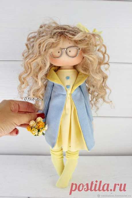 Текстильные куколки :) Подборка выкройки. Автор куколок: Olesya Nestratova
