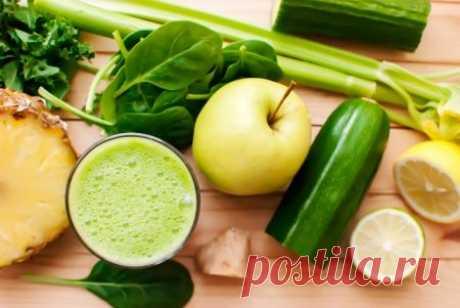 Напиток из имбиря, огурца, лимона и мяты для похудения