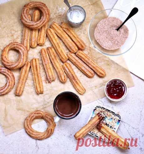 Чуррос - Вкусный блог Оли Лукьянцевой