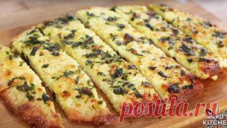 Рецепт низкоуглеводного чесночного хлеба