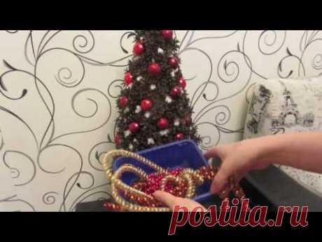 Елка из шишек/новогоднее украшение/новогодняя елка своими руками