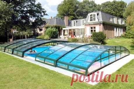 Какие бывают накрытия для бассейнов: виды накрытий для бассейнов