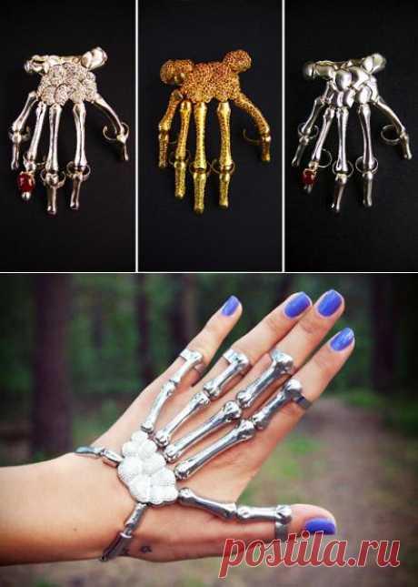 El esqueleto-pulsera