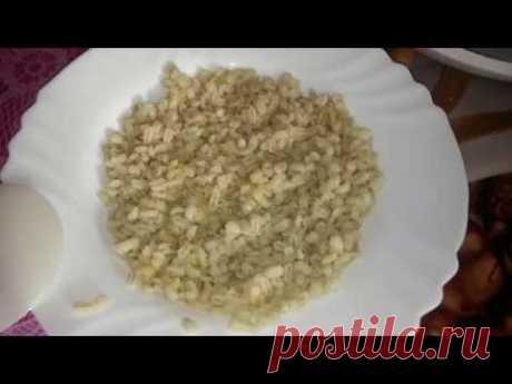 Como cocer la papilla de cabada perlada en la multicocción - YouTube