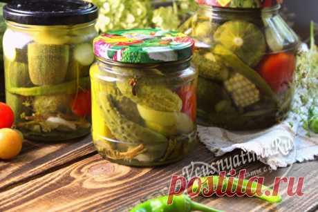 Маринованное ассорти из овощей на зиму: самый вкусный рецепт с фото