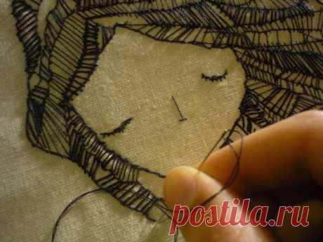 Реально красивая вышивка (подборка) Модная одежда и дизайн интерьера своими руками
