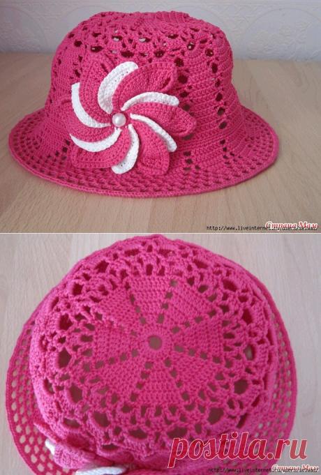El sombrero de señora veraniego