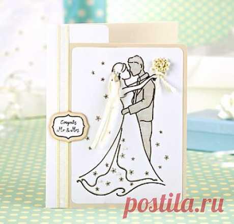 Как сделать свадебные открытки своими руками: мастер-класс, скачать шаблон бесплатно