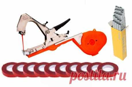 Купить Тапенер - инструмент для подвязки растений (Подвязчик винограда, помидор, огурцов)
