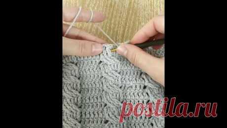 Как вязать косу крючком