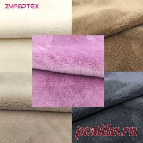 Zyfmptex дешевые 5 мм ворс шерсть Фетр Ткань пэчворк для Шитьё и ткань содержит tissu ткань Куклы Материал плюшевые Ткань купить на AliExpress