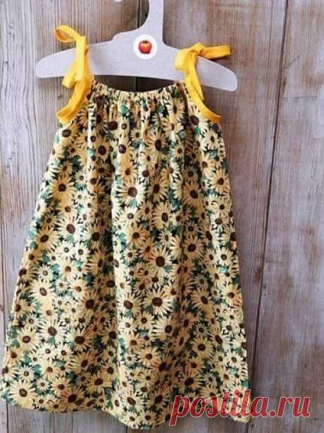 Сарафан для маленькой модницы