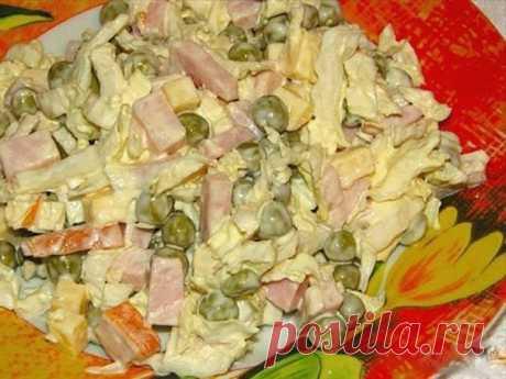 """САЛАТ """"ЛЕДИ ВИНТЕР""""- САМЫЙ ЛЮБИМЫЙ! Это действительно вкуснейший салат... - сколько бы ни сделали - съедается весь! Это салат, который можно приготовить и на скорую руку в случае внезапно"""