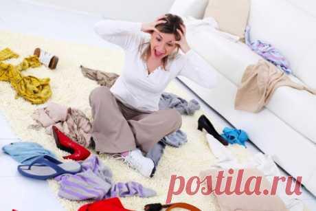 Привычки, мешающие наводить порядок в доме