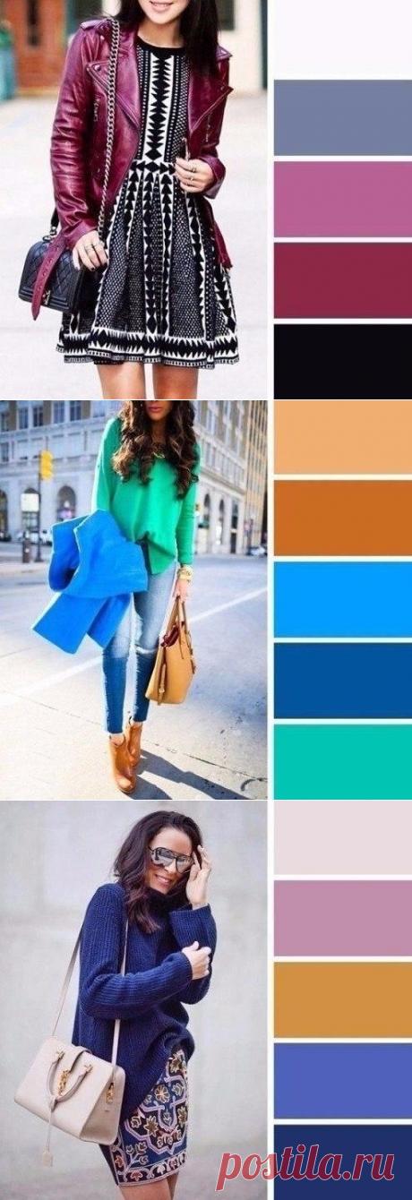 Шесть эффектных цветовых сочетаний, которые необходимо использовать весной — Модно / Nemodno