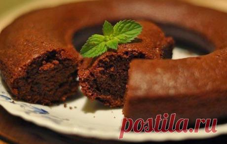 Шоколадный манник — Лучшие рецепты