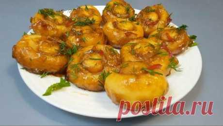 Рецепт картофельных грибов