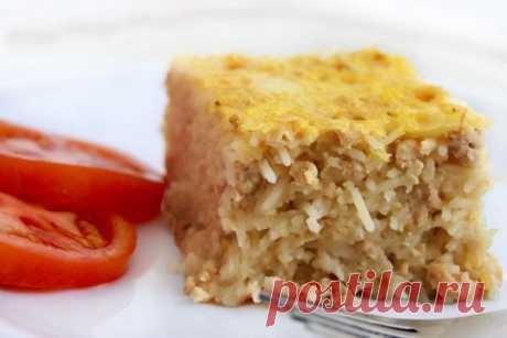 Простая запеканка из вермишели с мясом — Sloosh – кулинарные рецепты