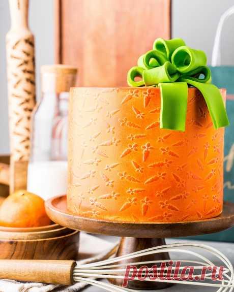 Морковный торт «Банни» | Andy Chef (Энди Шеф) — блог о еде и путешествиях, пошаговые рецепты, интернет-магазин для кондитеров |