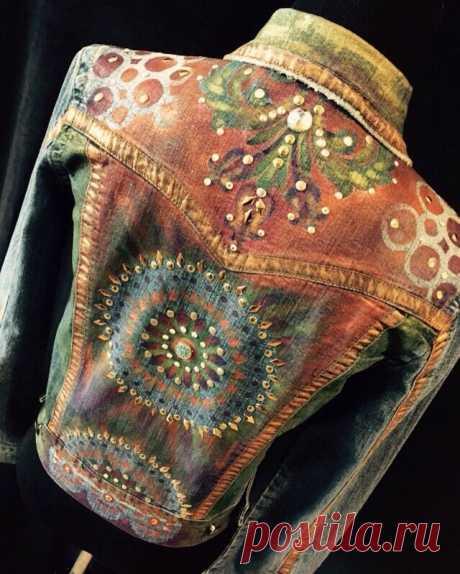 За здоровую бережливость к джинсовые ошметкам! Девы и дамочки!…: boho_area — ЖЖ