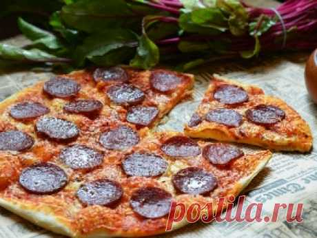 Как приготовить пиццу Пепперони в домашних условиях?