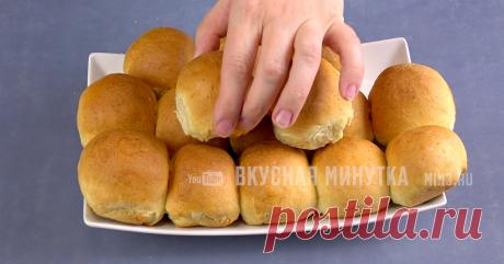 Мгновенное дрожжевое тесто для пирожков, булочек и для пиццы: даже у новичков получается | Кухня наизнанку | Яндекс Дзен