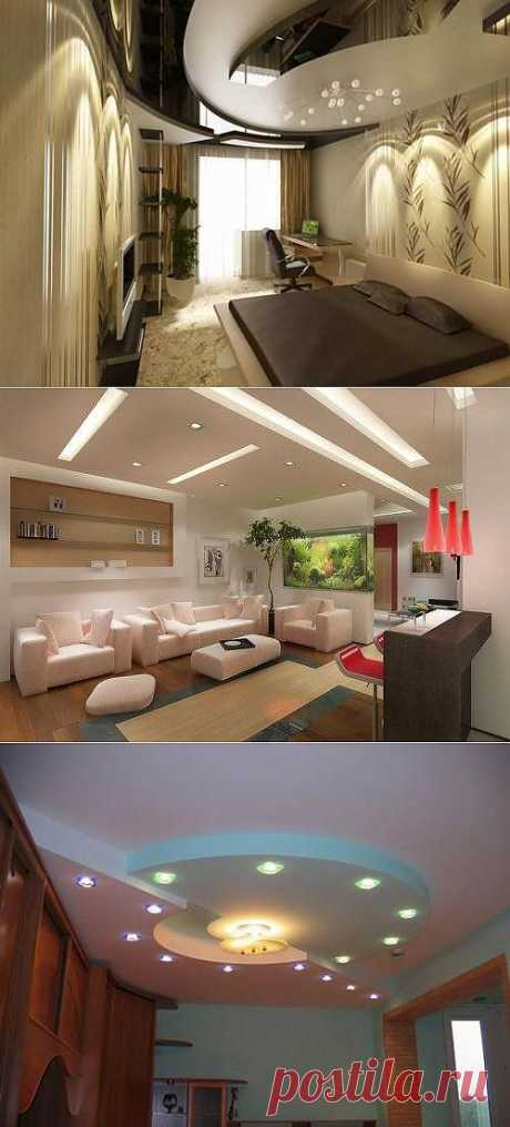 Design of ceilings in the apartment