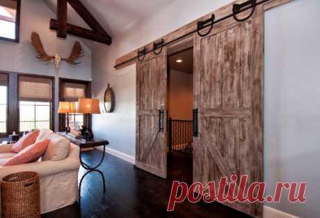 Как использовать сдвижные двери в интерьере: 20 идей для разных комнат — Roomble.com