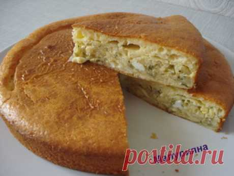 Cabbage pie on kefir the recipe with photos