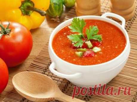 Гаспачо - вкусное холодное блюдо для жаркого лета