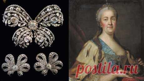 Драгоценности Екатерины Великой - гордость сокровищницы императорского дома Романовых