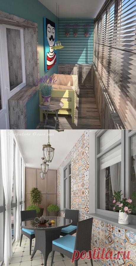 Оформляем балкон или лоджию в стиле кантри — Сделай сам, идеи для творчества - DIY Ideas