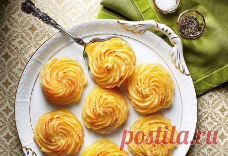 Французский гарнир «Картофель герцогини» — рецепт Potatoes Duchess | ВокругСада.ру