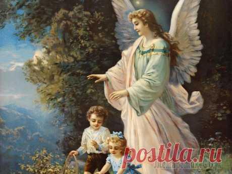 Утренняя молитва Ангелу – Хранителю о привлечении удачи. - МирТесен